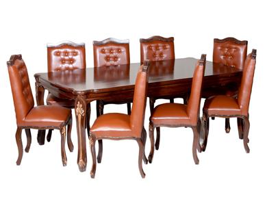 میز کنفرانس کلاسیک مدل کویین