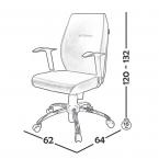 صندلی کارشناسی مدل B120 001