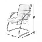 صندلی کنفرانس مدل C350 0030