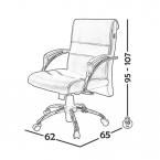 صندلی کارشناسی مدل B350 0031