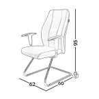 صندلی کنفرانس مدل C130 0035