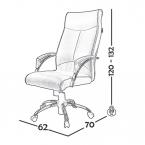 صندلی کارشناسی مدل B140 0040