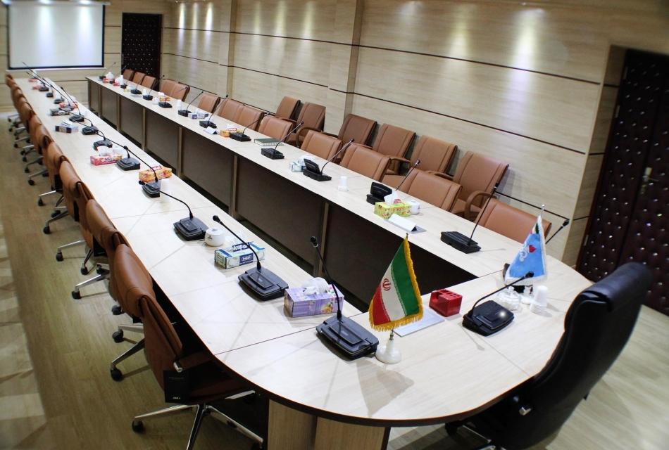 میز کنفرانس میز مدولار U شکل - باز