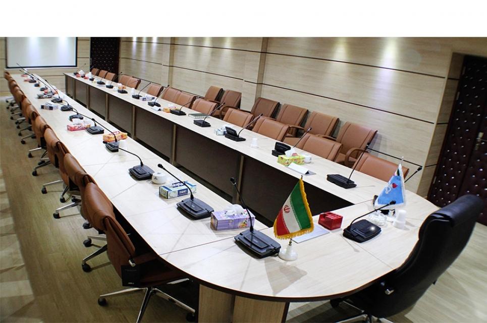 میز کنفرانس میز مدولار U شکل؛ باز