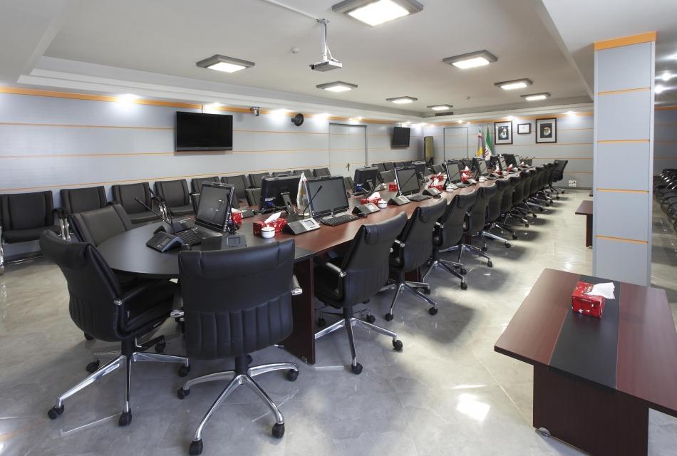 بانک ها بانک پاسارگاد - ساختمان مرکزی-سالن کنفرانس