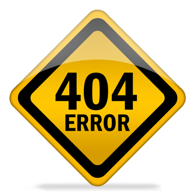 Error 404 – File not found